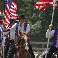 The Spirit of Long Island Mounted Drill Team